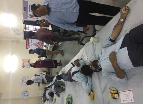 MEGA BLOOD DONATION CAMP – 2016