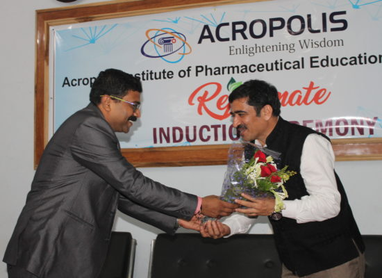 "Induction Program ""Rejuvenate"" of Pharmacy Department for 1st Year Students of D.Pharm/B.Pharm/M.Pharm"